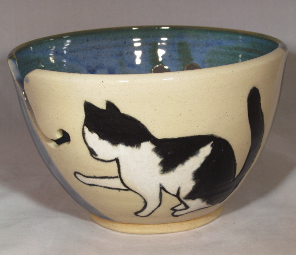 Knitting Bowl Funny : Saramics functional and fun pottery handmade dishes