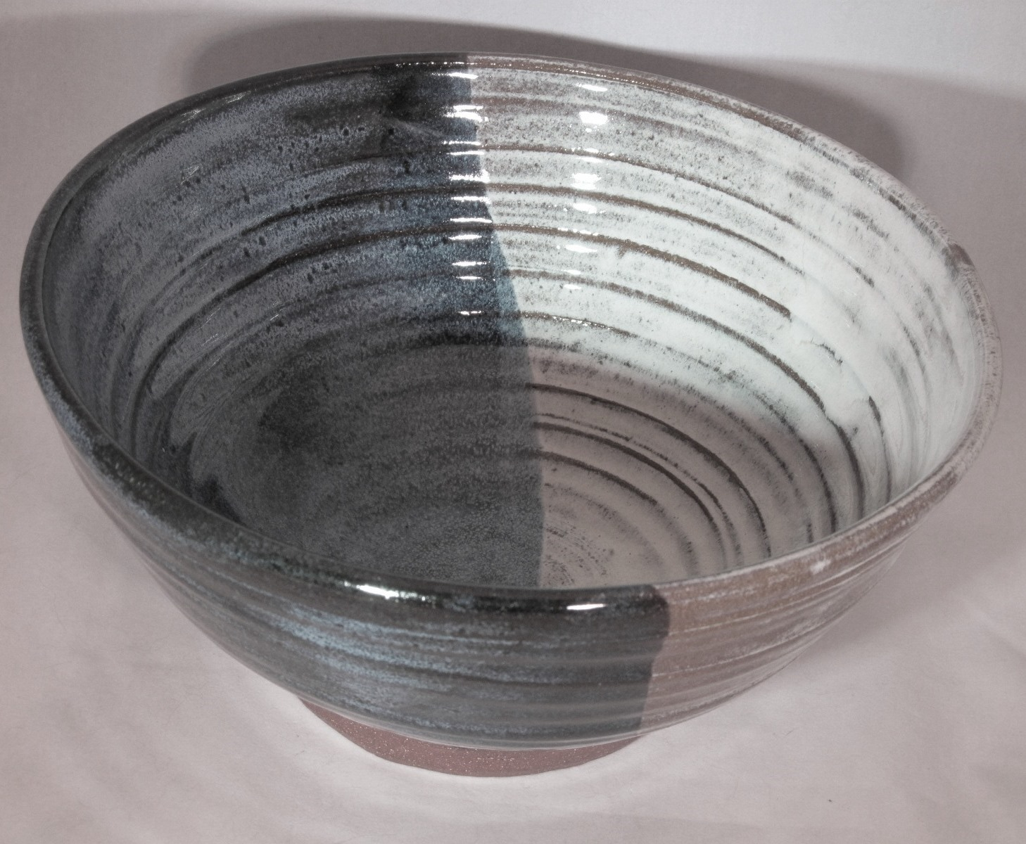 Autumn leaf serving bowl